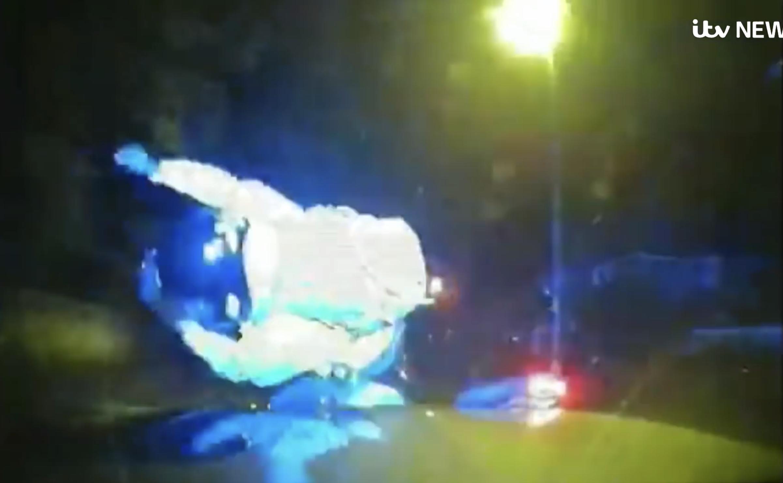 """""""Contacto Táctico"""", la policía londinense embiste al crimen en moto"""