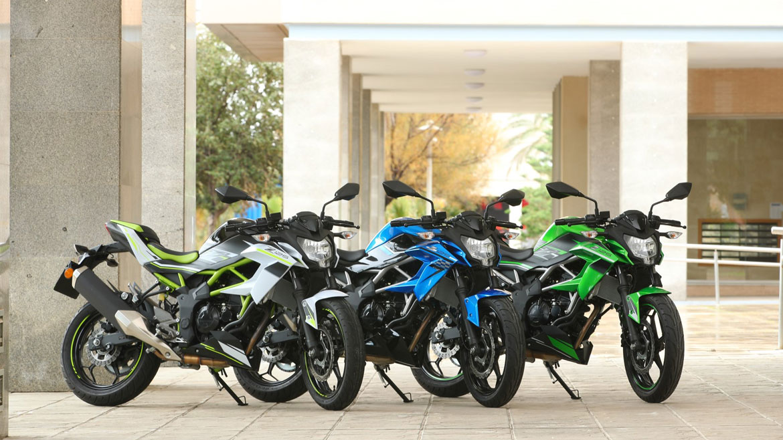 Kawasaki Ninja 125 & Z125 2019, prueba y primeras impresiones