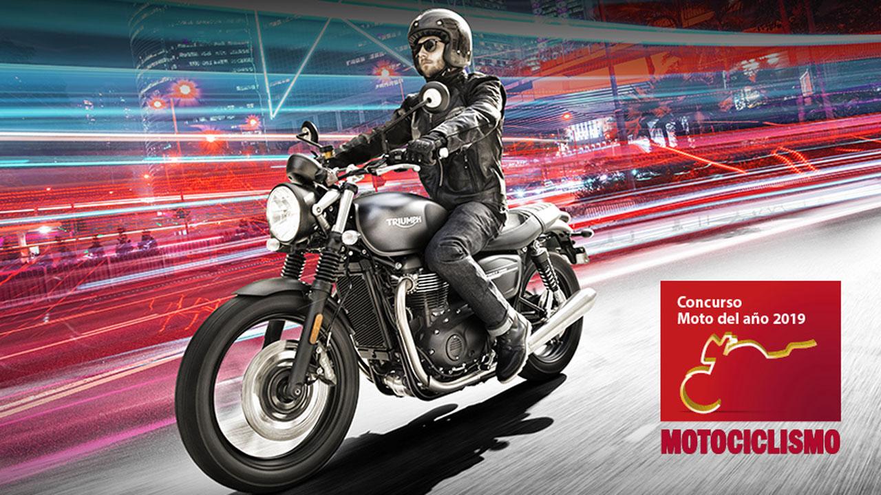 La Moto del Año 2019: ¡Llévate una Triumph Street Twin!