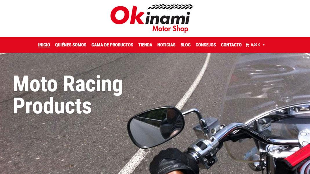 Okinami Motor, la nueva tienda online para motoristas