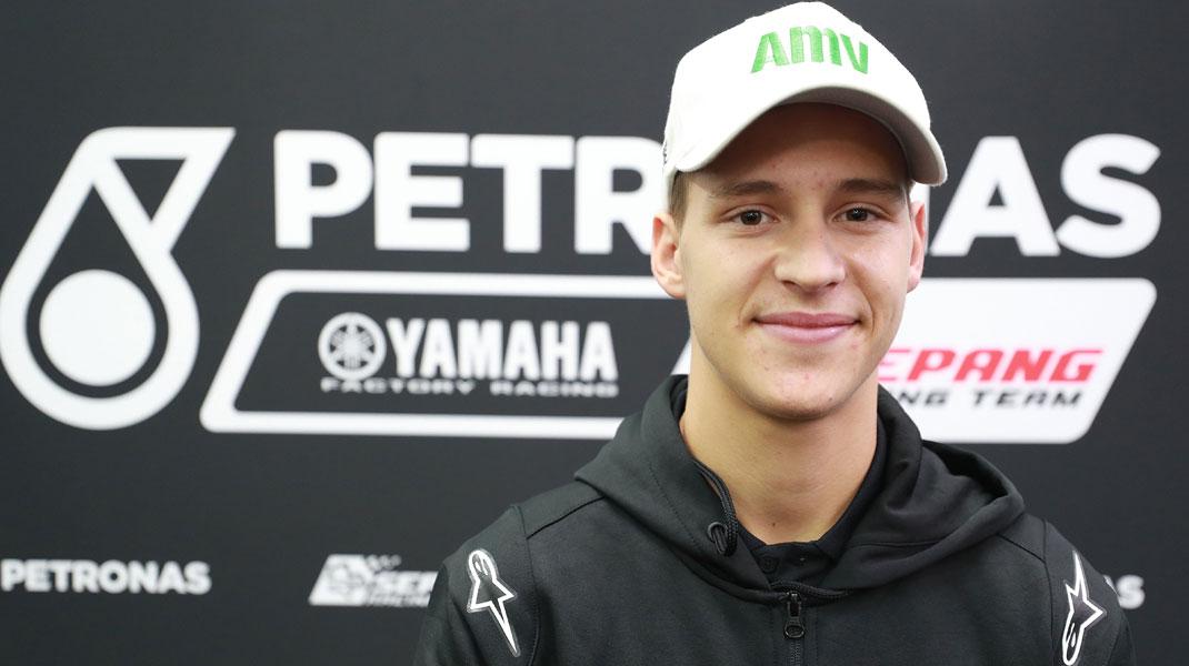 """Fabio Quartararo: """"No pensé que tendría la oportunidad de subir a MotoGP esta temporada"""""""
