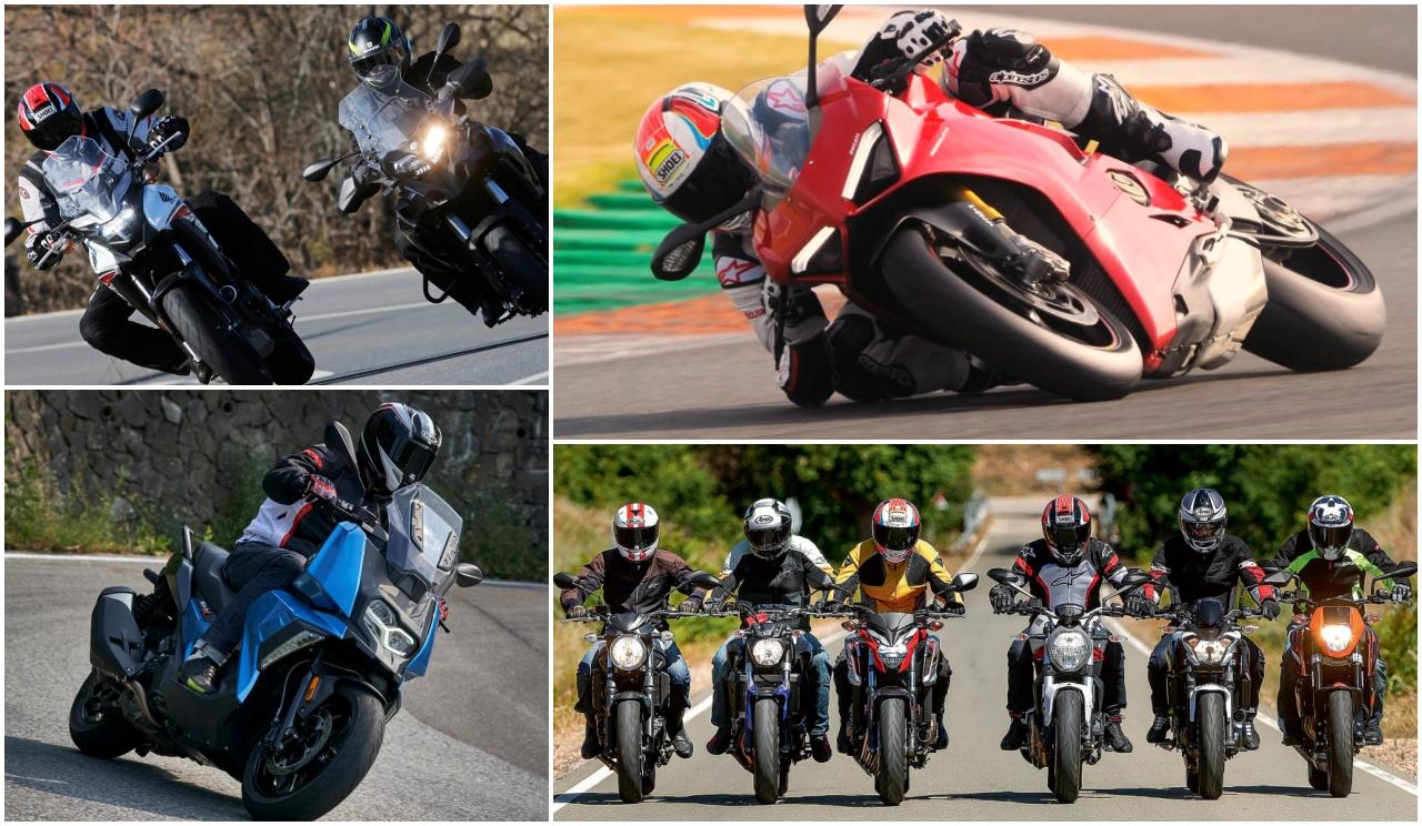 Las 10 pruebas de motos y comparativas más leídas de 2018 en Motociclismo