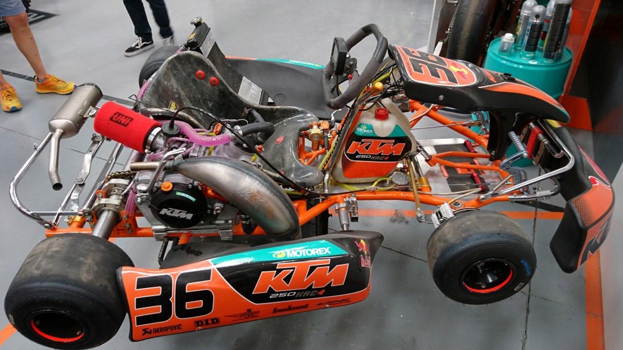 KTM lanza su gama de karts