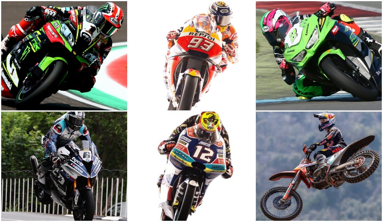Jonathan Rea, Marc Márquez, Ana Carrasco, Michael Dunlop y Jorge Prado, mejores pilotos 2018