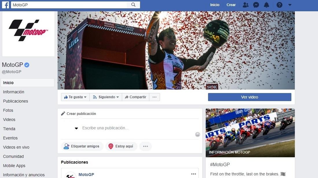 MotoGP, rey absoluto de las redes sociales