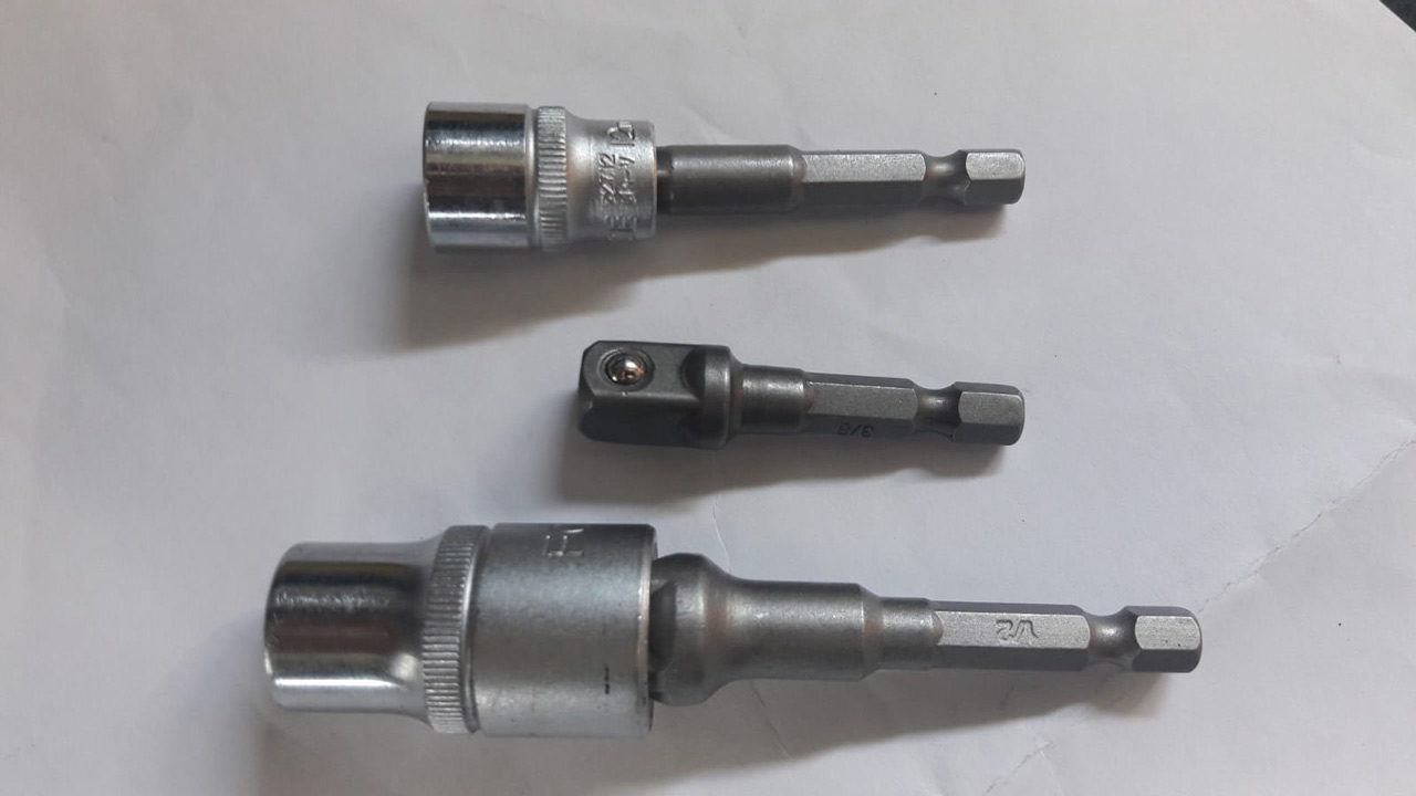 Herramienta especial: adaptador de vasos a taladro