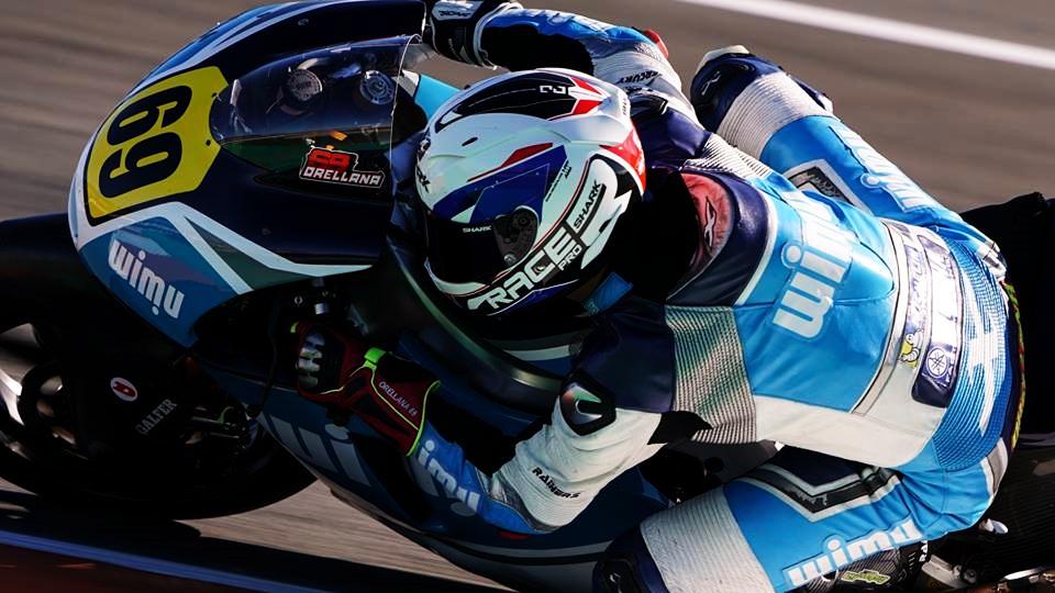 Javier Orellana se retira del motociclismo a los 21 años