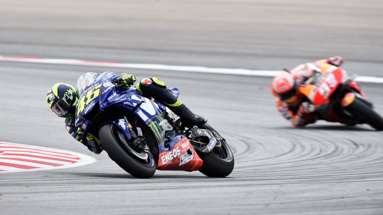 Valentino Rossi es más líder del GP All Time y Marc Márquez ya roza el top ten