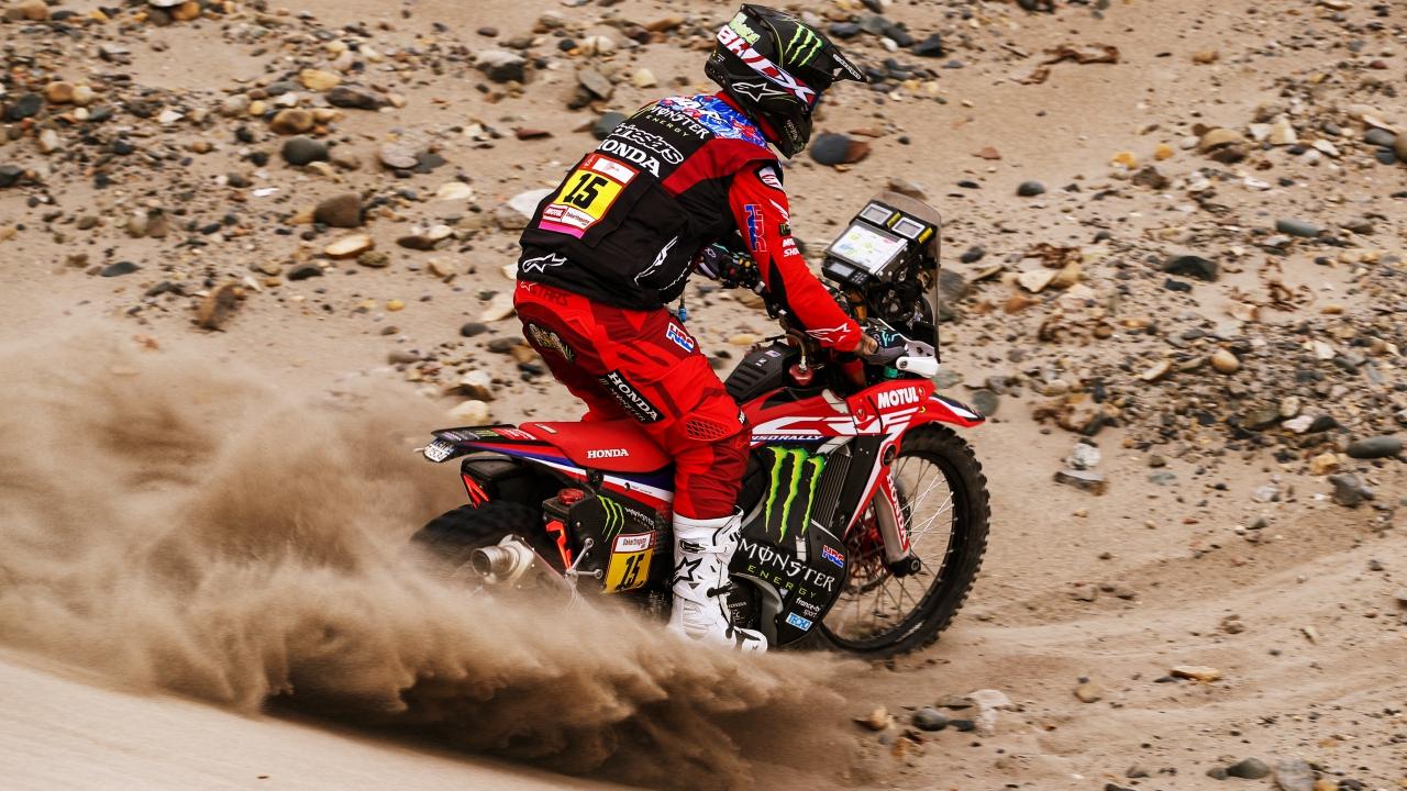 Dakar 2019: Ricky Brabec rompe motor y se esfuman casi todas las opciones de Honda