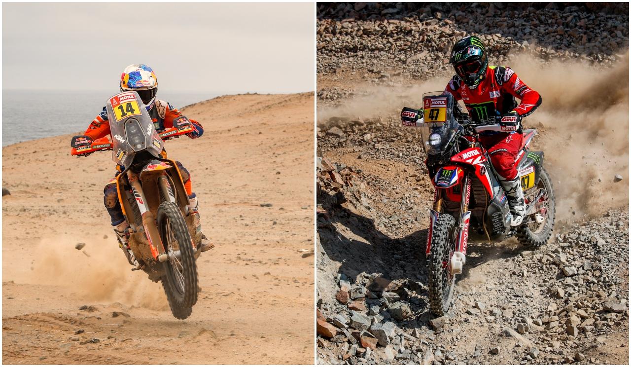 Dakar 2019: Sanción de una hora a Sam Sunderland y de tres a Kevin Benavides