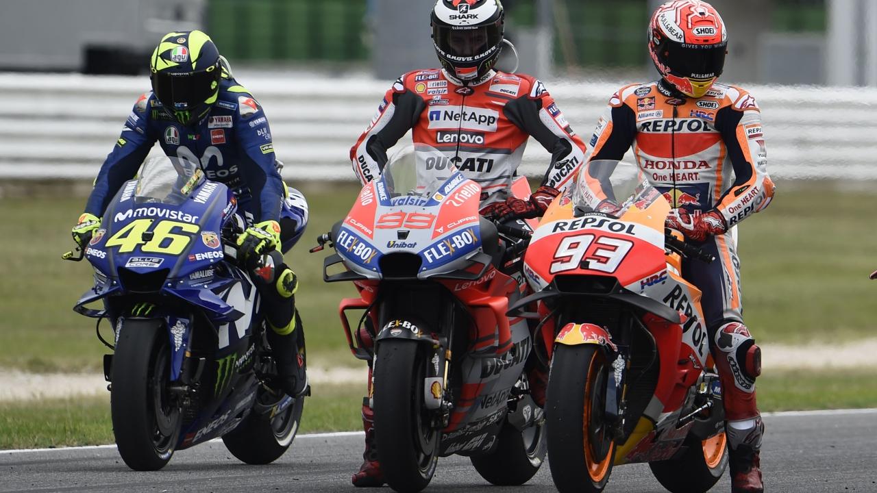 Jorge Lorenzo sigue líder del GP de la década y Marc Márquez supera a Valentino Rossi