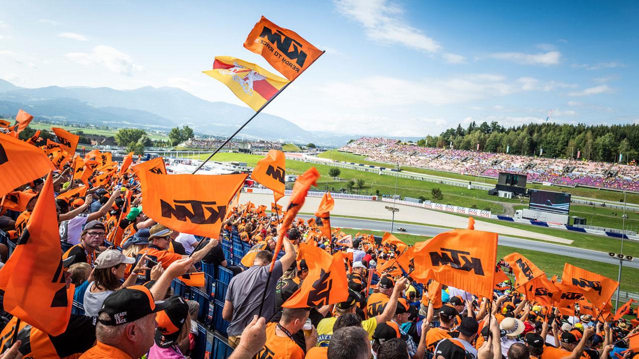 Montmeló tendrá tribuna KTM en MotoGP