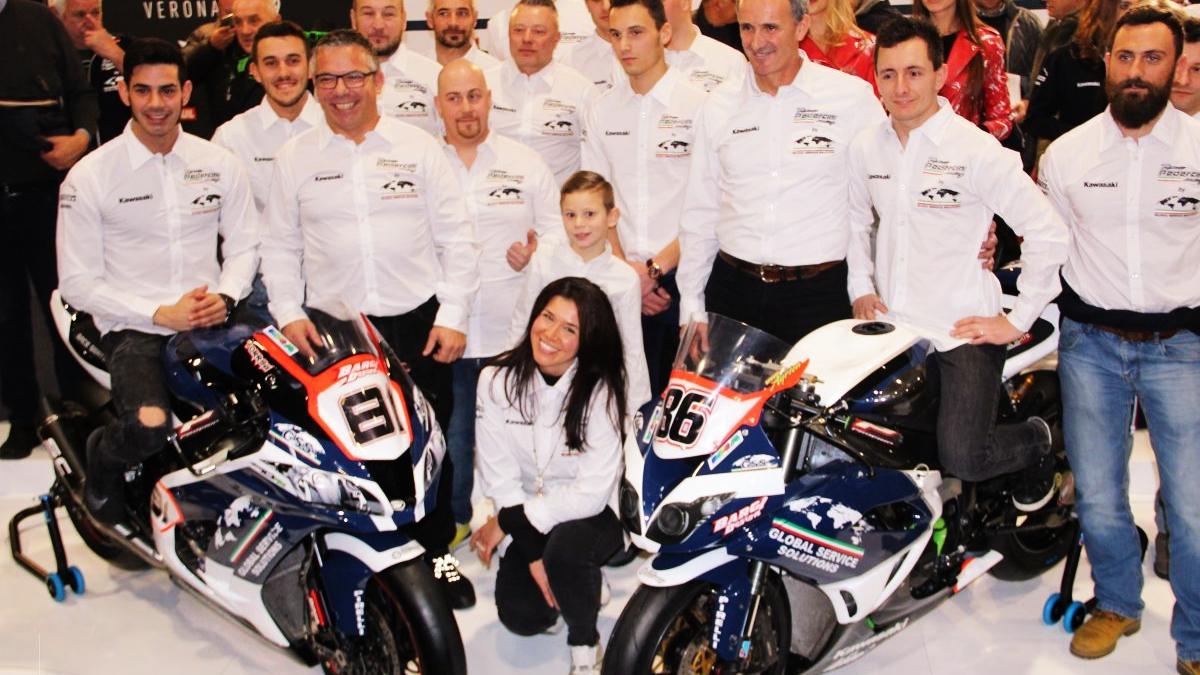La Kawasaki ZX-10RR de Jordi Torres en Superbike 2019 será azul oscuro