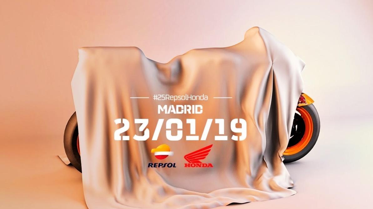 Vuelve a ver la presentación Repsol Honda MotoGP 2019 con Marc Márquez y Jorge Lorenzo