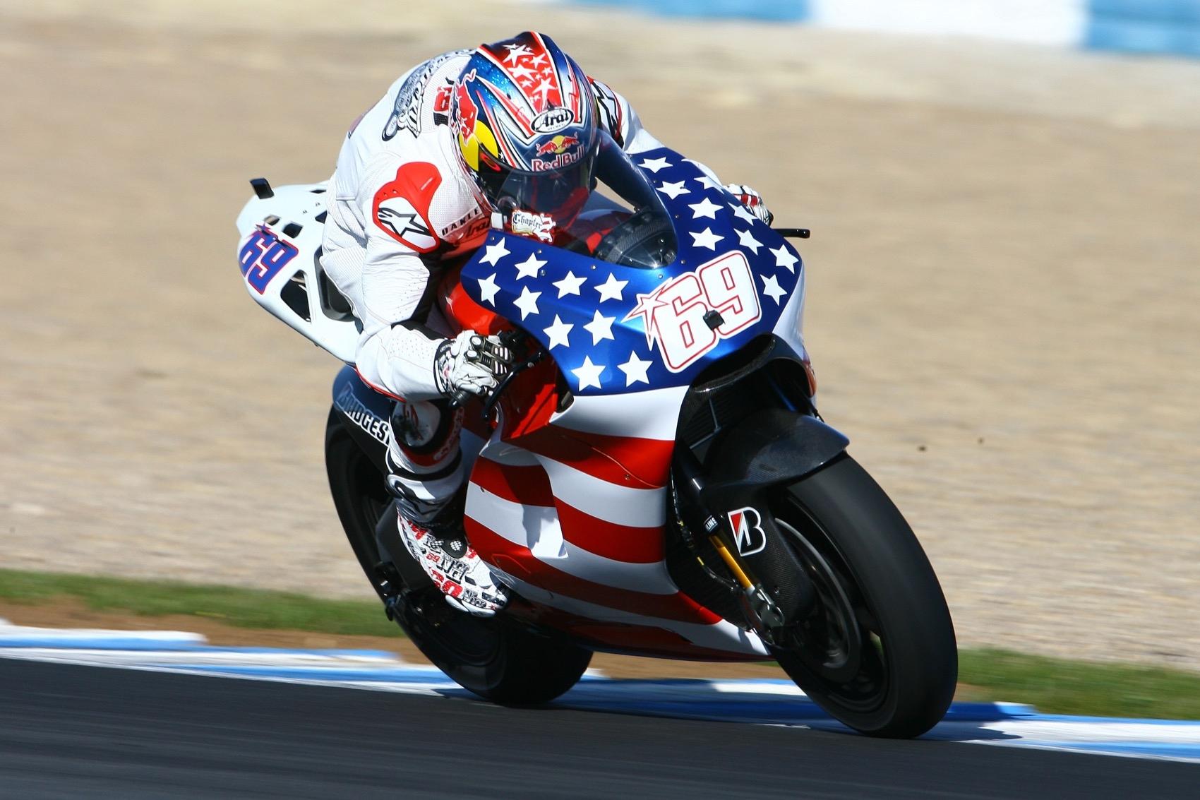MotoGP decide retirar el 69 de Nicky Hayden
