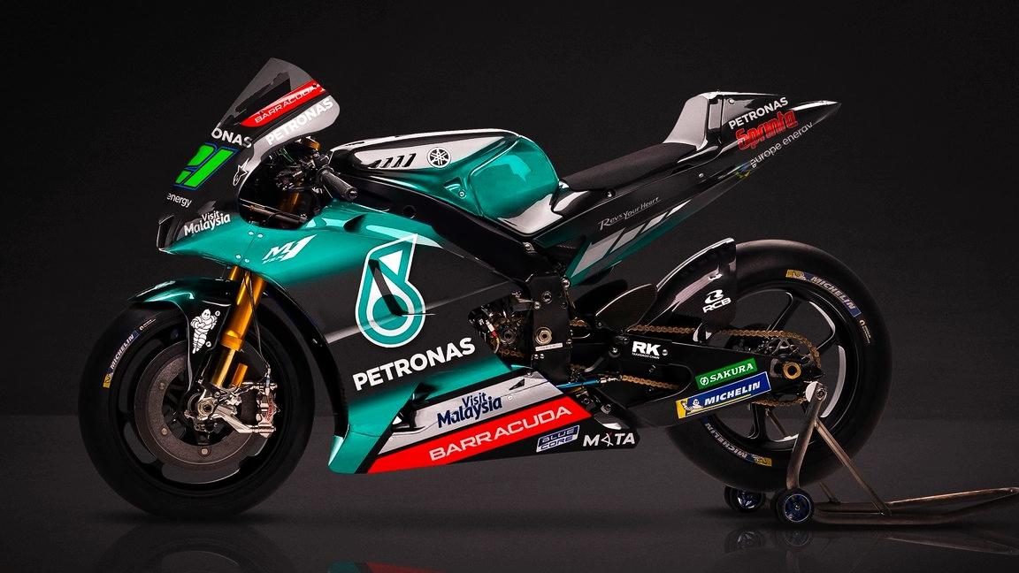 El Petronas Yamaha SRT presenta las YZF-M1 de Franco Morbidelli y Fabio Quartararo para MotoGP 2019