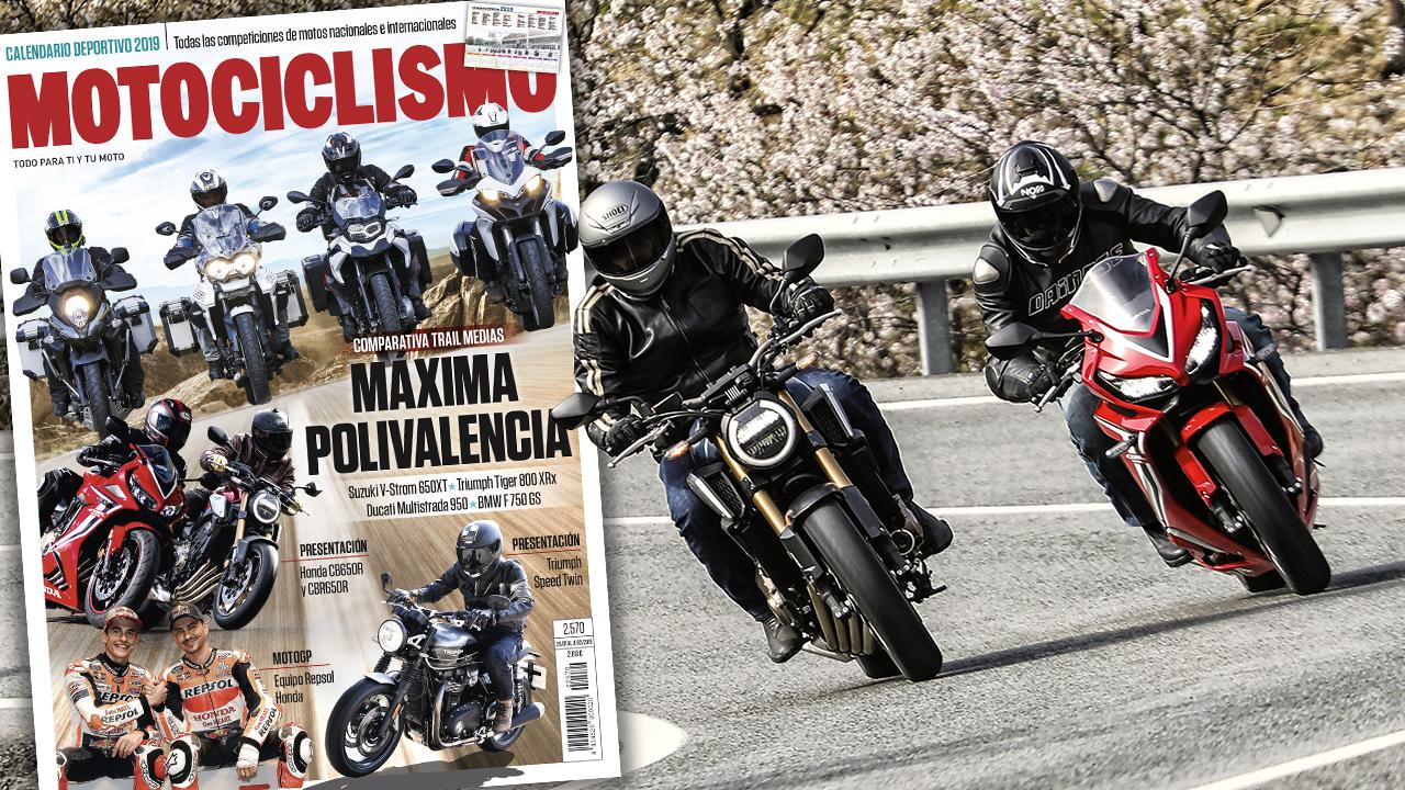 MOTOCICLISMO 2570, contenidos y sumario de la revista