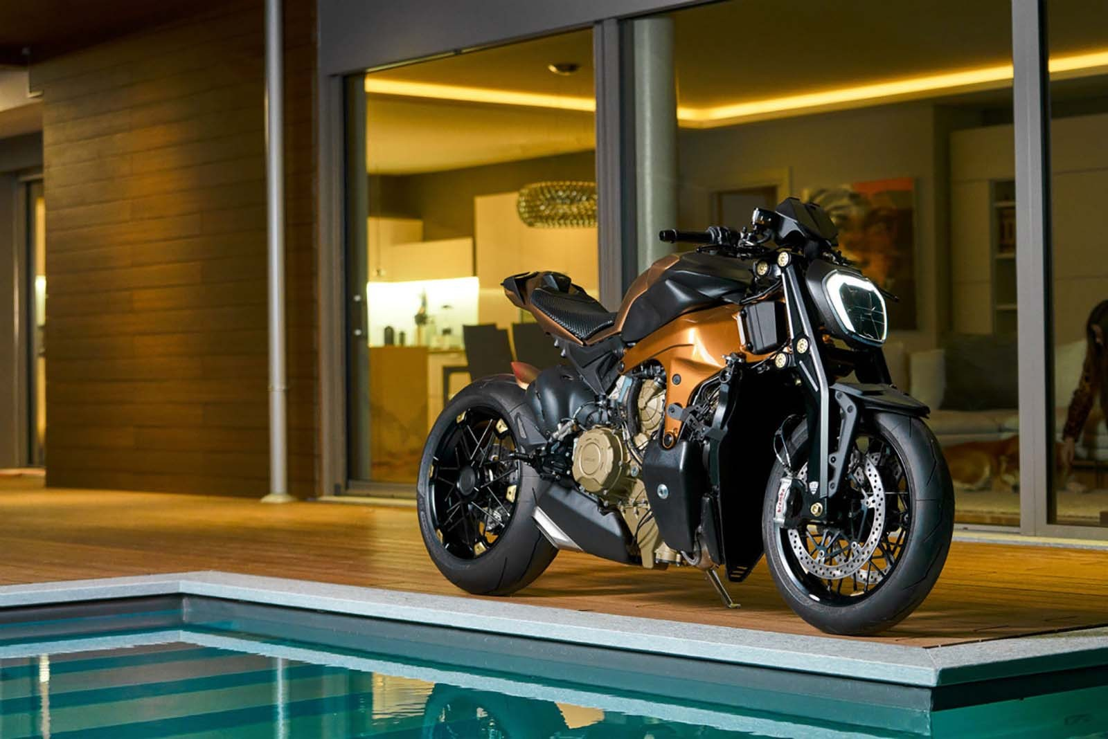 Ducati V4 Penta, un adelanto de lo que podría ser una Streetfighter V4