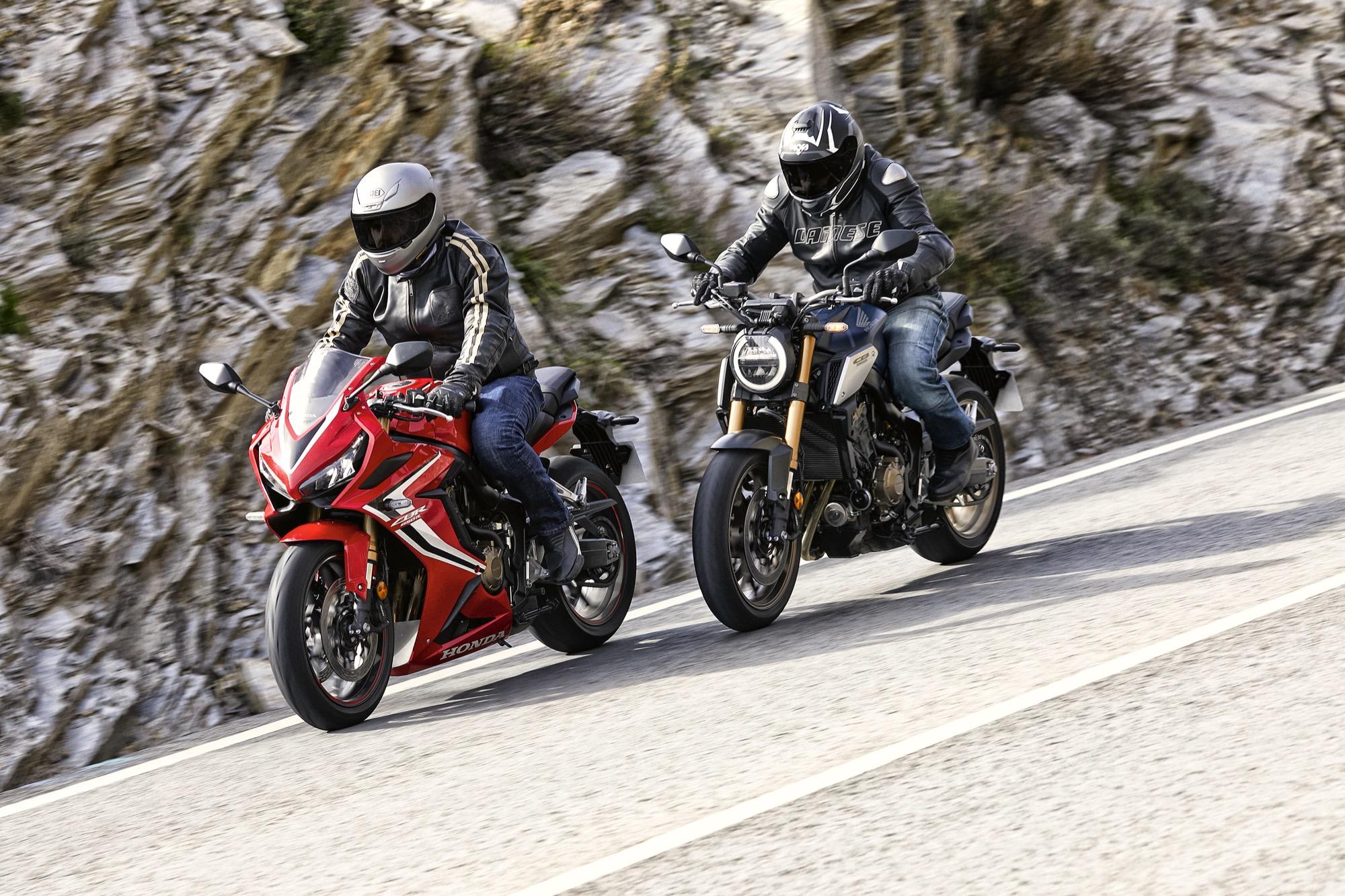 Honda CB650R & CBR650R, prueba y primeras impresiones