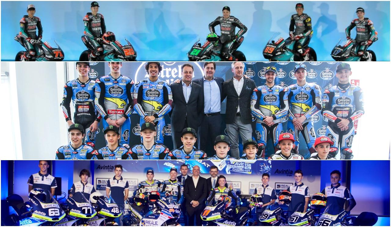Los equipos-pirámide de MotoGP, una tendencia al alza y con color español