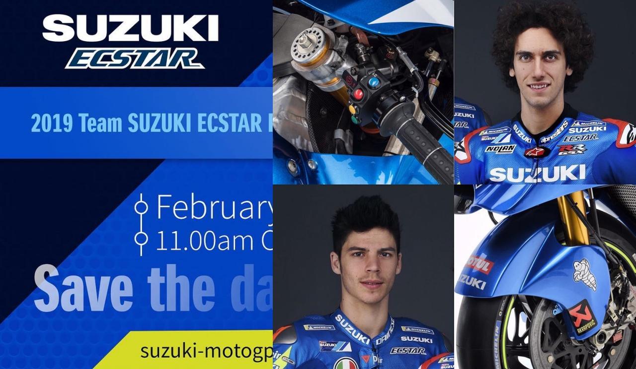 Vídeo presentación Suzuki GSX-RR MotoGP 2019 con Álex Rins y Joan Mir