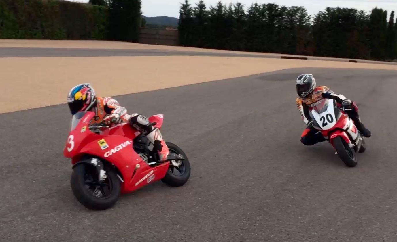 Entrénate con Dani Pedrosa y Sete Gibernau antes del GP de Catalunya