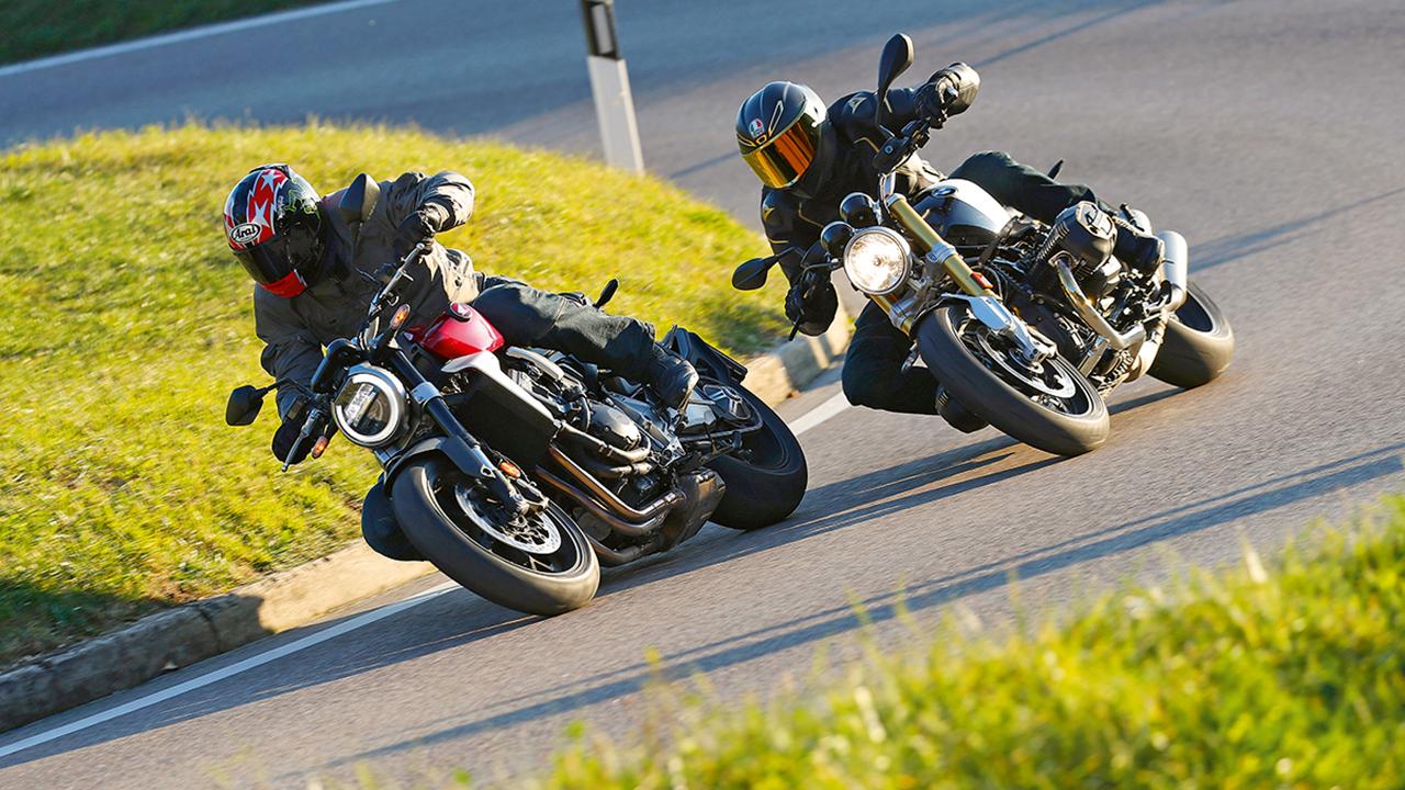Comparativa BMW nineT vs Honda CB1000R: oro y plata de las motos vintage