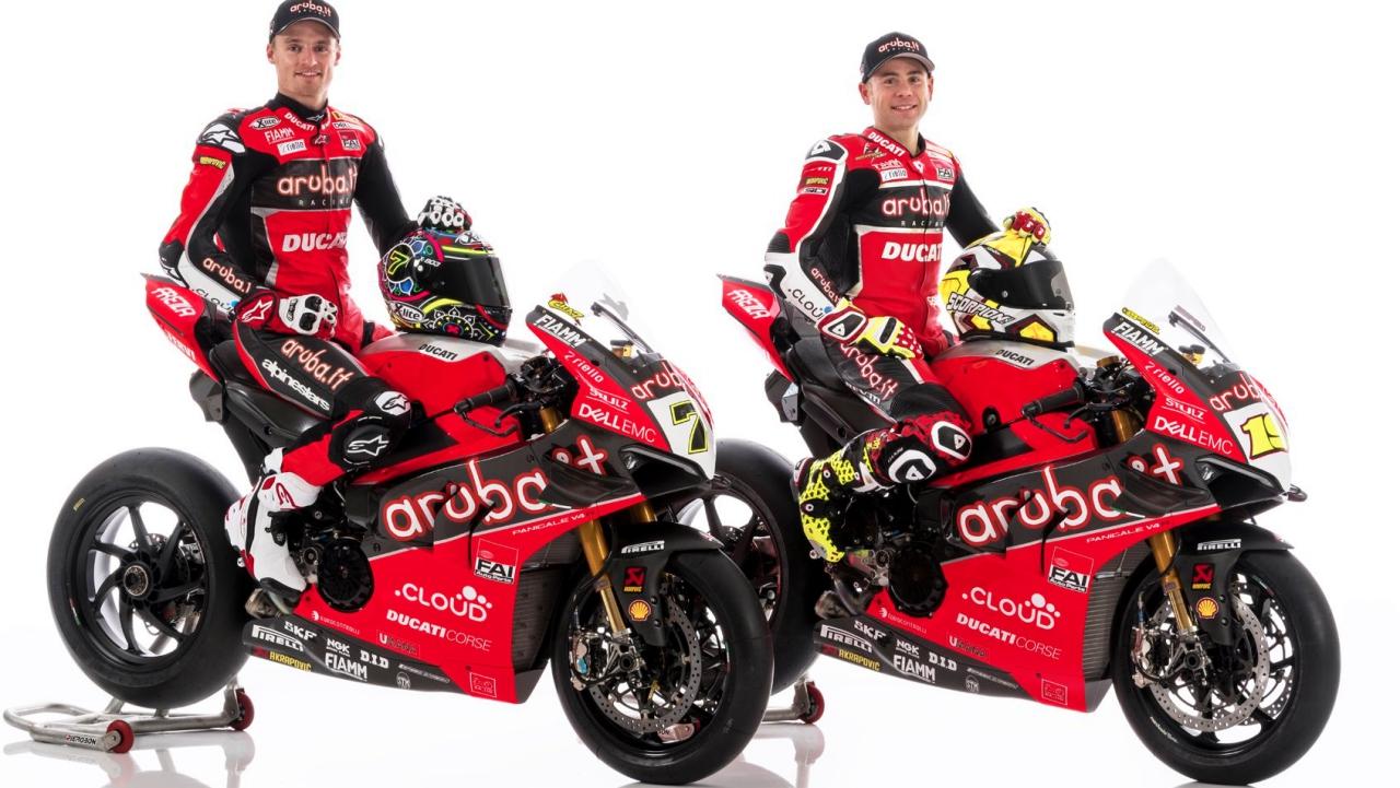 Ducati enseña la Panigale V4 R de Álvaro Bautista y Chaz Davies para WSBK 2019