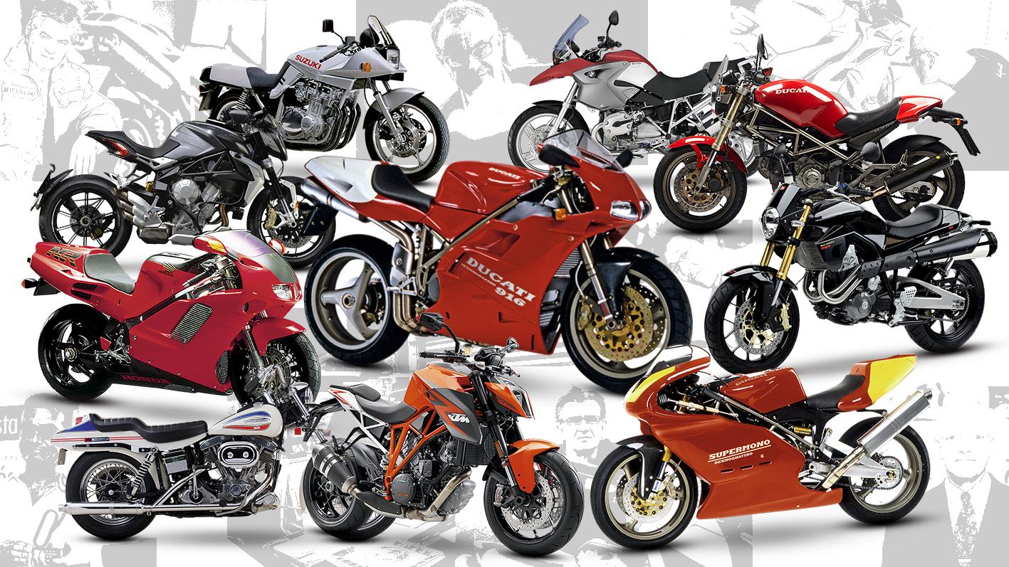 Los 10 mejores diseñadores de motos de la historia