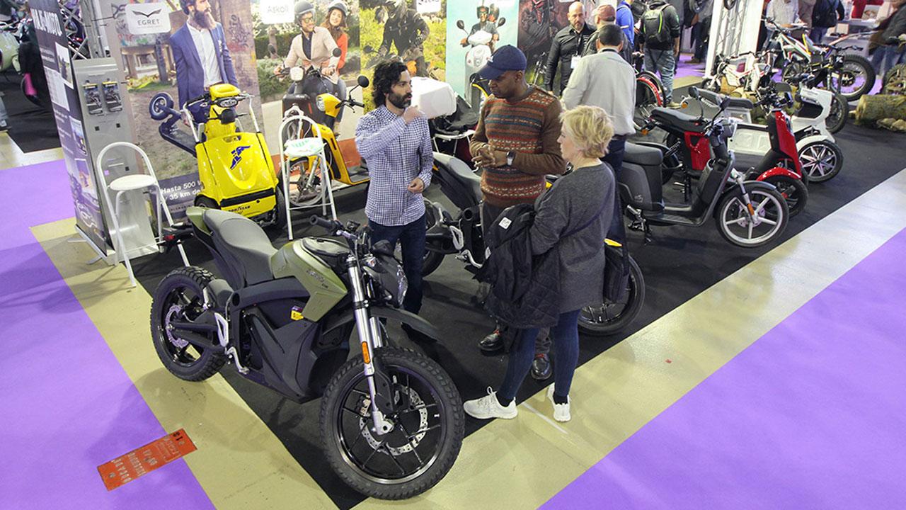 La moto eléctrica gana terreno en MotoMadrid 2019