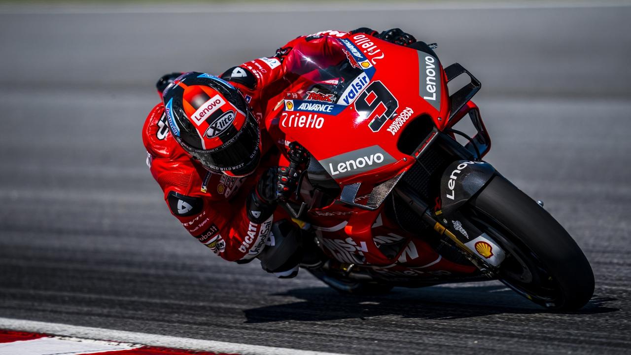 Danilo Petrucci tritura el crono y MotoGP 2019 empieza con póquer capicúa de Ducati