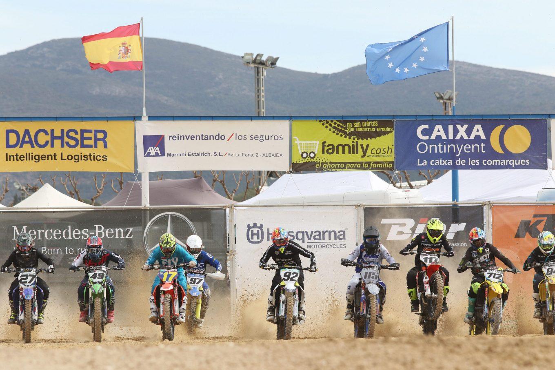 Dominio de Larrañaga y Butrón en la primera cita del Nacional de Motocross