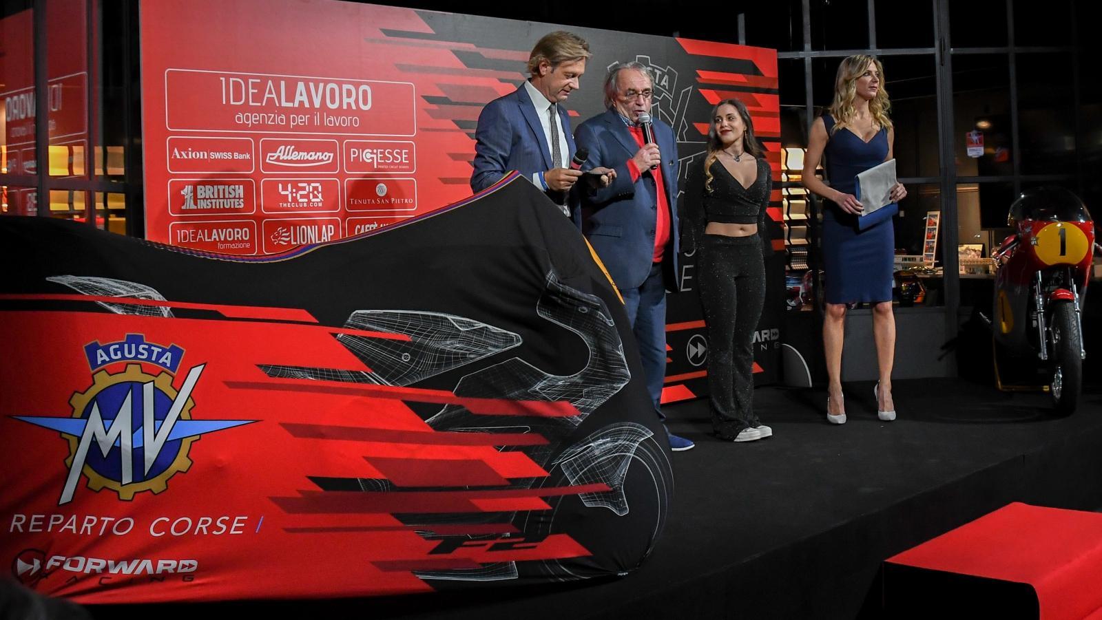 MV Agusta desvela la moto con la que vuelve al Mundial en 2019 tras 42 años