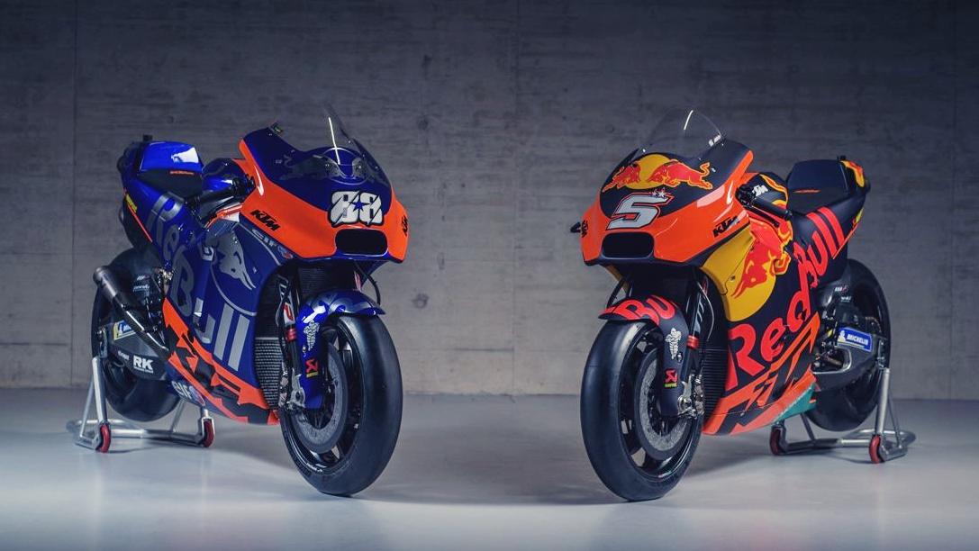KTM y Red Bull enseñan los dos colores de su proyecto para MotoGP 2019