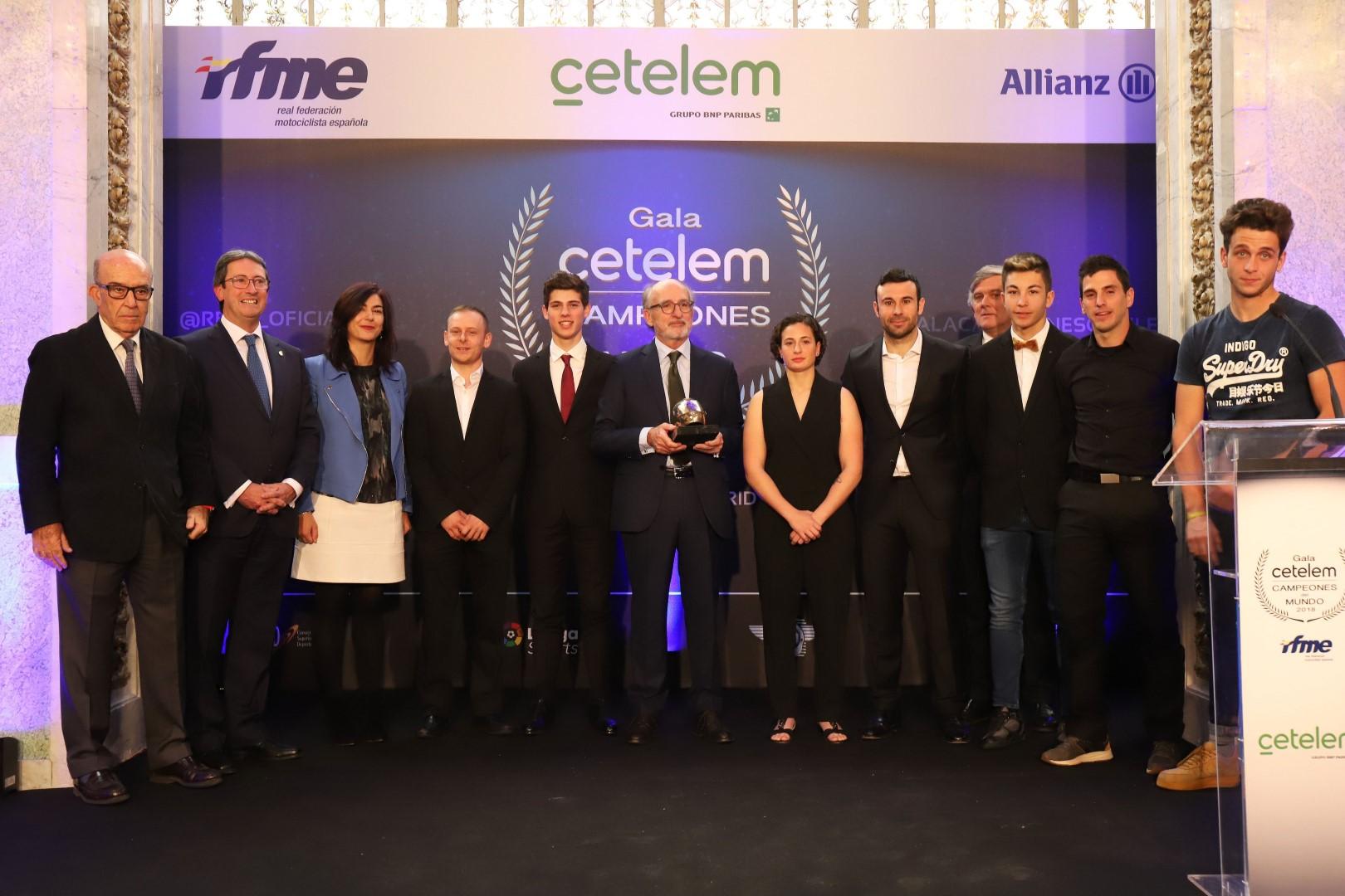 Homenaje a los pilotos españoles Campeones del Mundo 2018