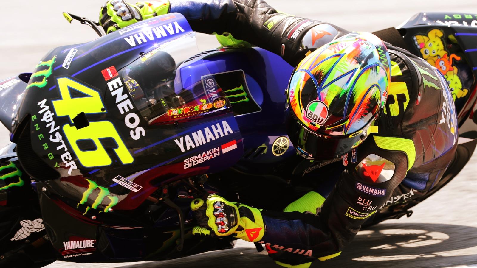 Valentino Rossi, del 40 al 1