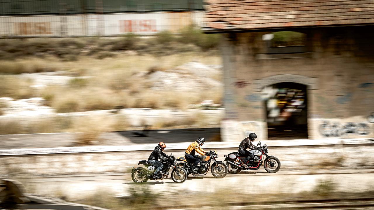 Comparativa Cafe Racer, Ducati Scrambler Café Racer vs Moto Guzzi V7 III Racer vs Triumph Street Cup