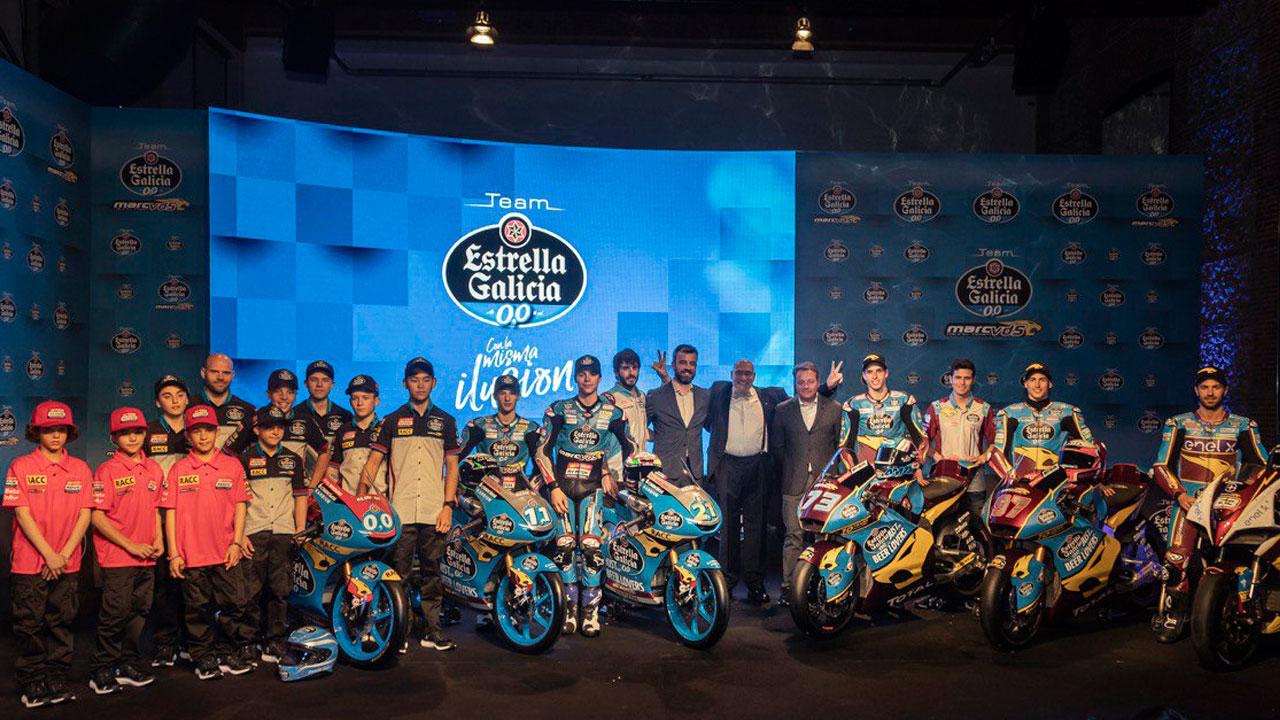 La pirámide de Estrella Galicia 0,0, de la base al Mundial de Moto2