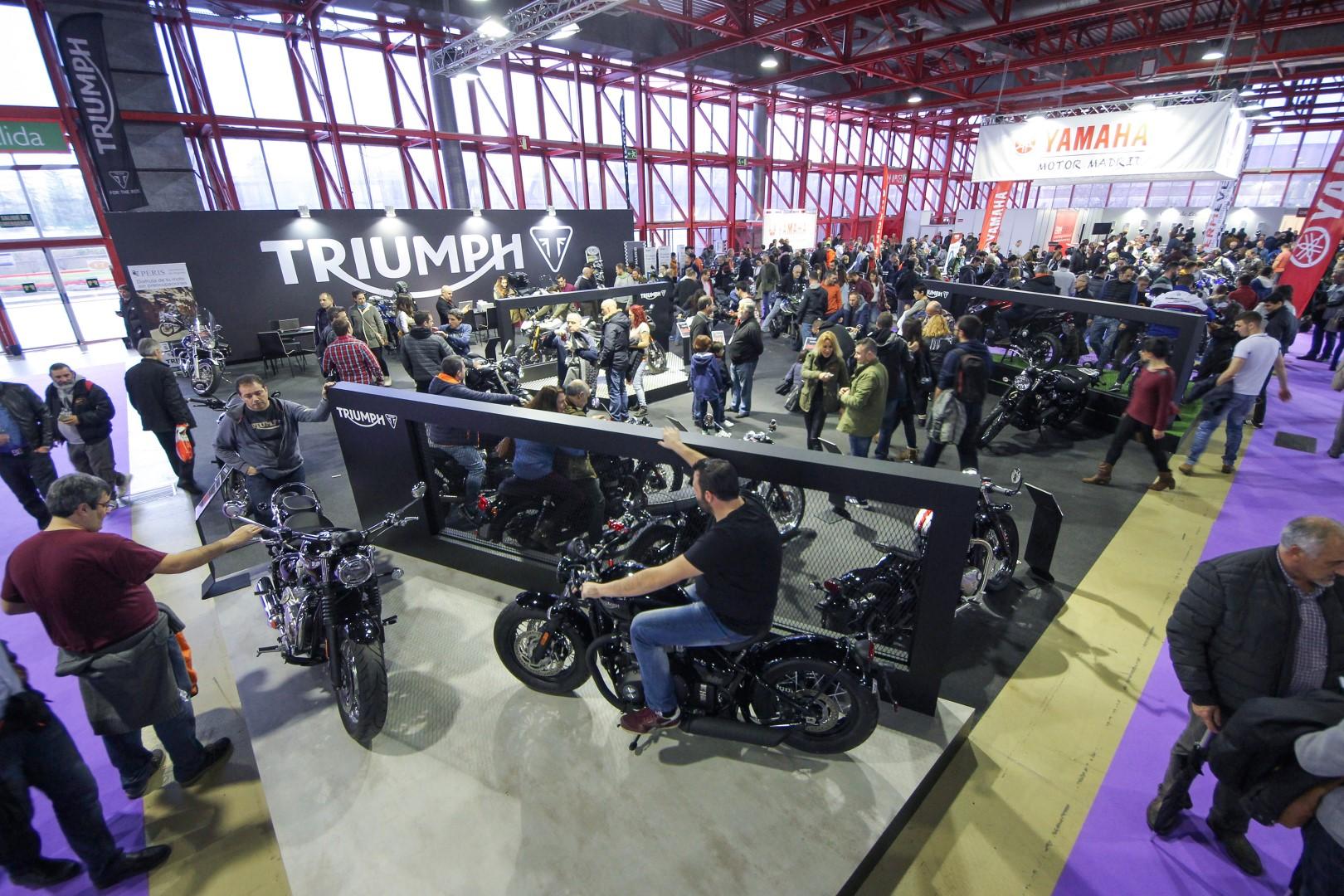 MotoMadrid 2019 colgará el cartel de completo