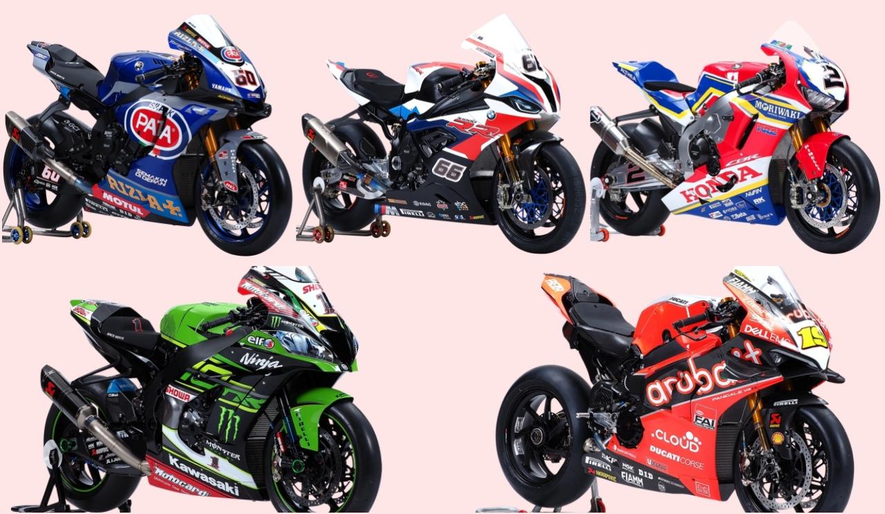 Las motos del Mundial de Superbike 2019