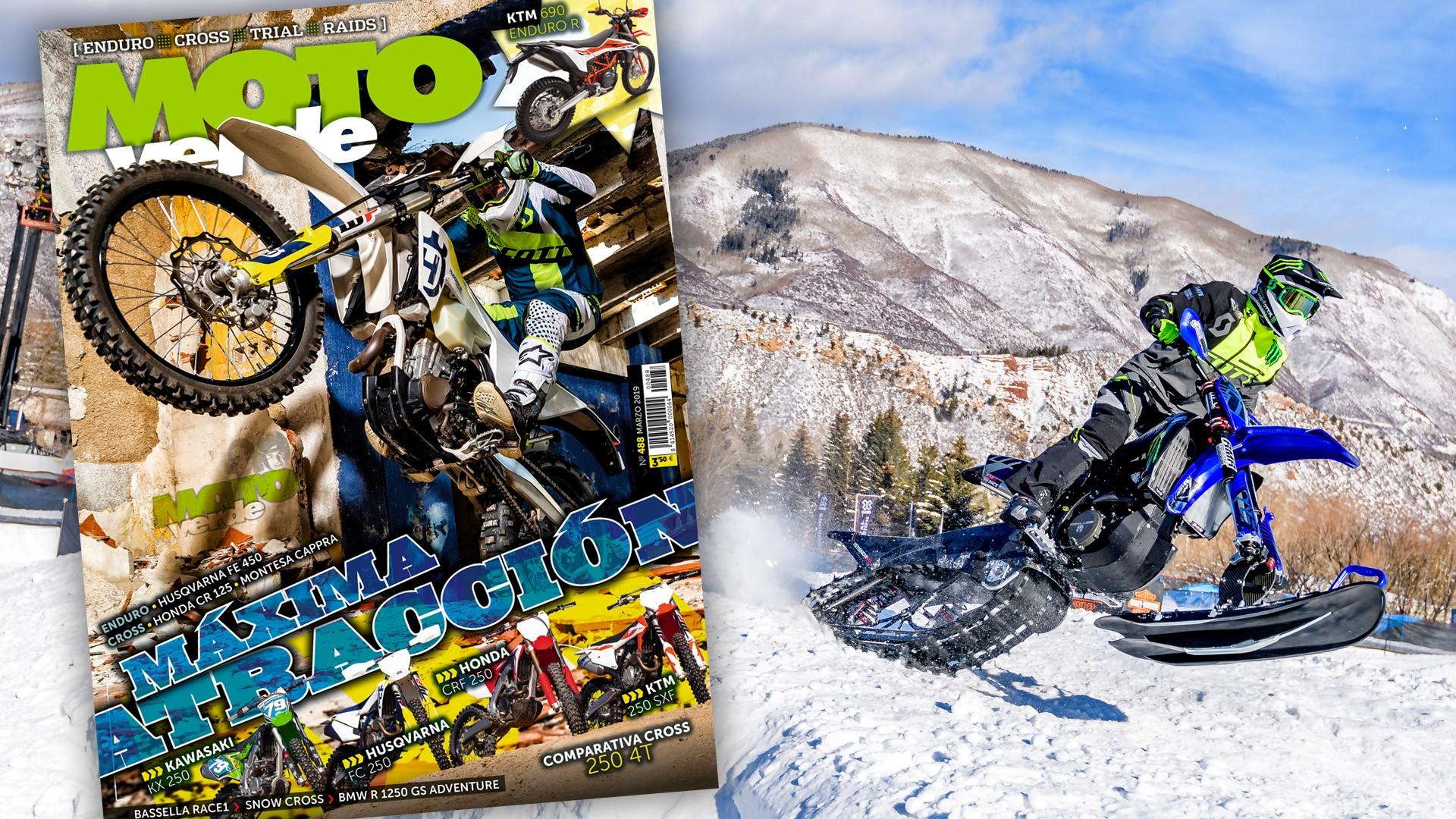 MOTO VERDE 488, contenidos y sumario de la revista