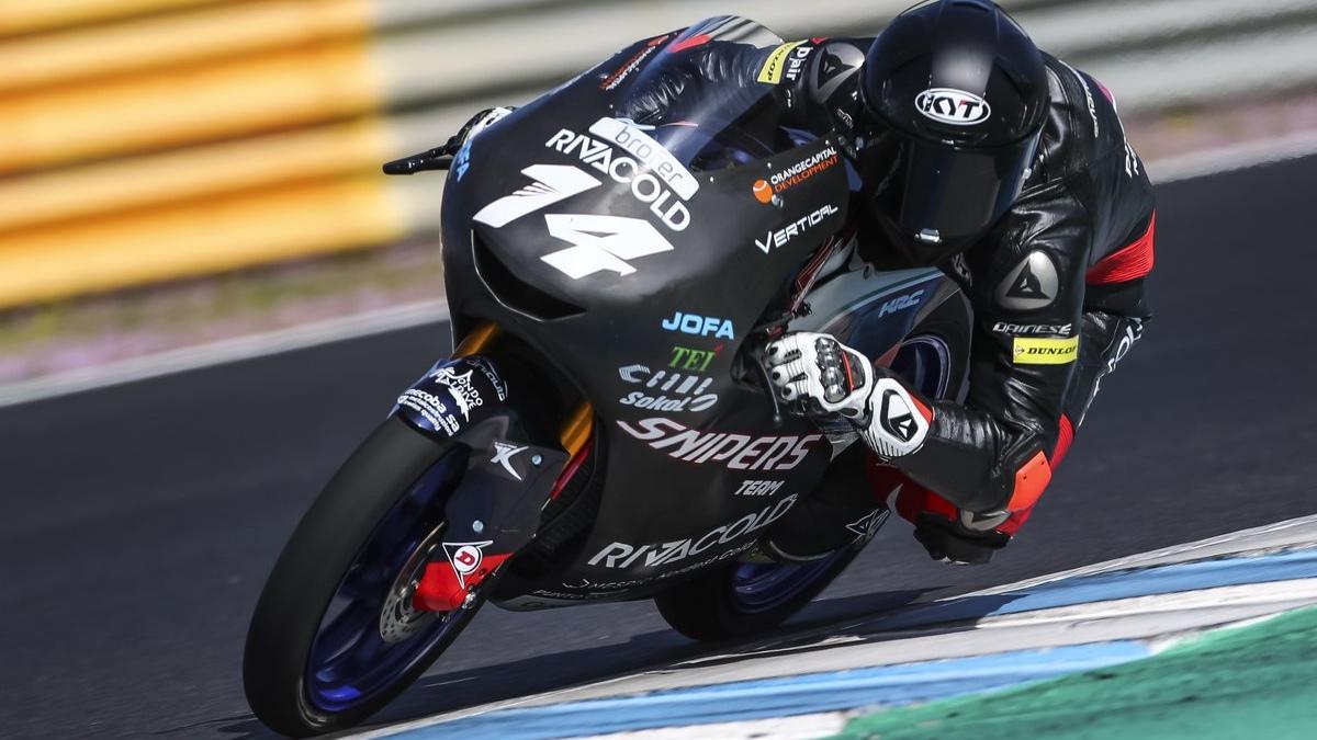 Tony Arbolino y Romano Fenati lideran el primer día de test de Moto3 2019 en Qatar
