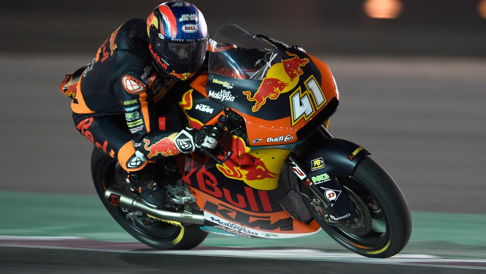 Brad Binder marca la diferencia el primer día de test de Moto2 2019 en Qatar