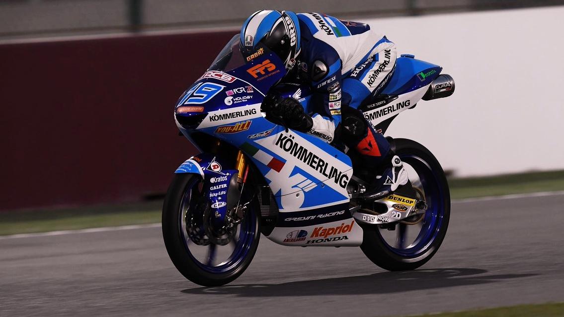 Gabri Rodrigo se rompe la clavícula y es seria duda para el GP de Qatar
