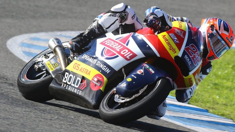 Sam Lowes lidera Moto2 ante Remy Gardner y Jorge Martín el segundo día de test en Qatar