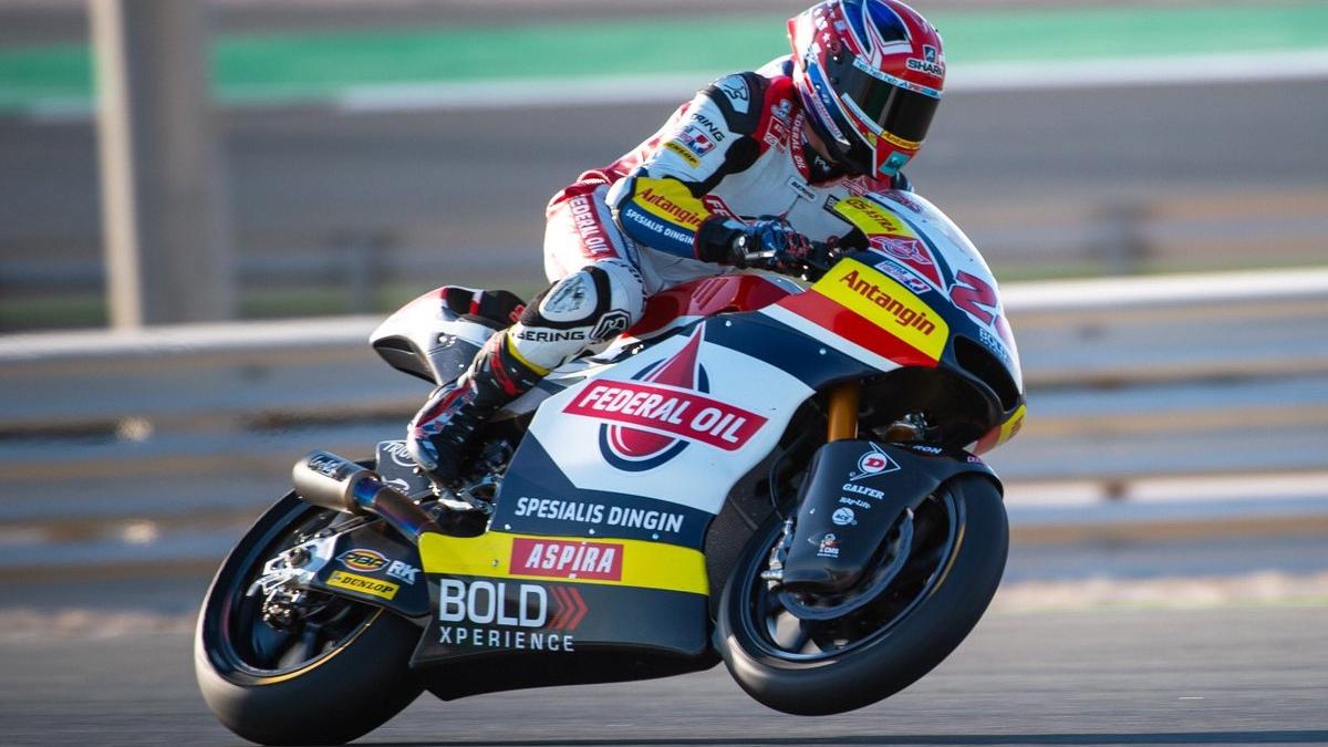 Sam Lowes y Tom Luthi lideran el final de la pretemporada de Moto2 2019 en Qatar