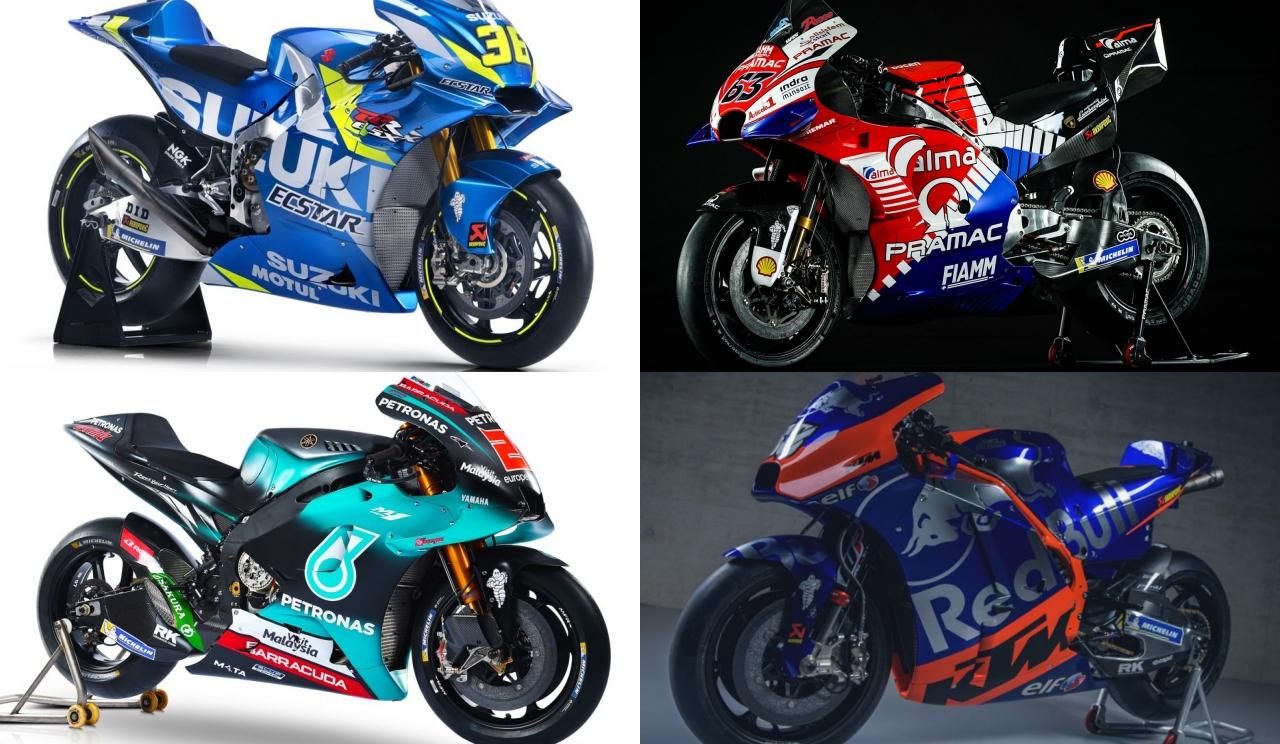 Los rookies de MotoGP 2019