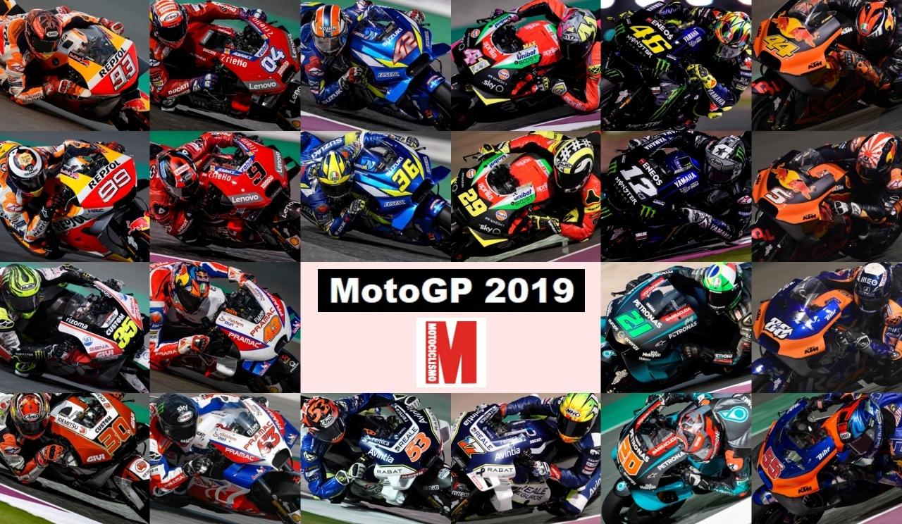 Los 22 pilotos de MotoGP 2019, en números