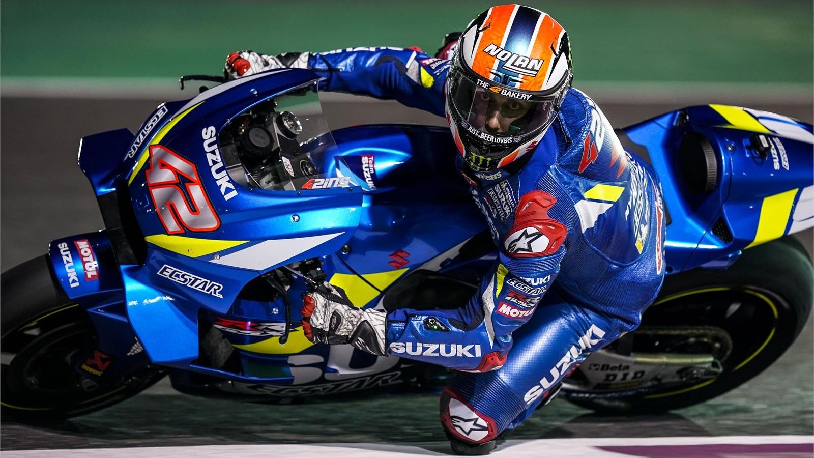 Álex Rins afronta MotoGP 2019 con el reto de emular a Casey Stoner y Barry Sheene