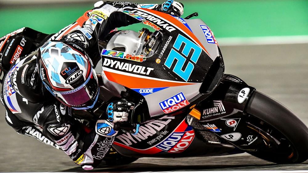 Marcel Schrotter evita que Xavi Vierge se haga con la pole de Moto2 en Qatar